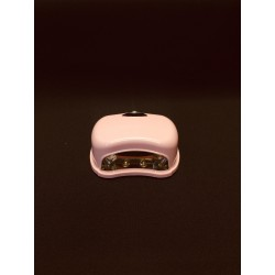 UV lámpa ledes  időzítős pink 8W