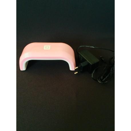 UV lámpa ledes alagút időzítős pink  8W