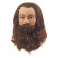 Babafej férfi 20-25cm human 100%