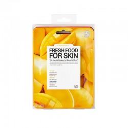 Fátyolmaszk fresh food szett mangó tápláló 5db