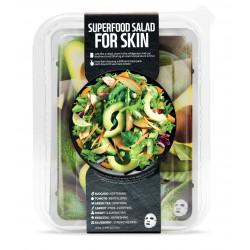 Fátyolmaszk superfood szett avokádó regeneráló  7db