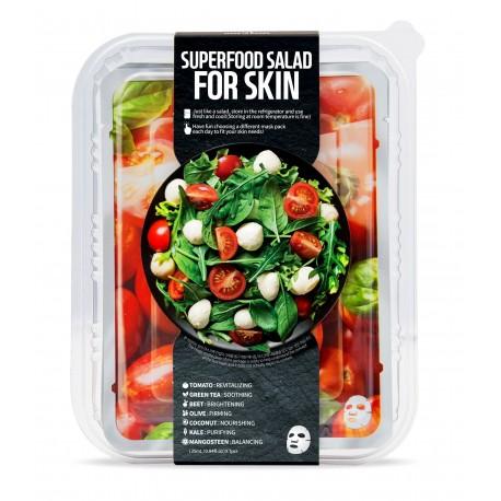 Fátyolmaszk super food szett paradicsom fáradt bőrre 7db