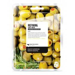 Fátyolmaszk super food oliva