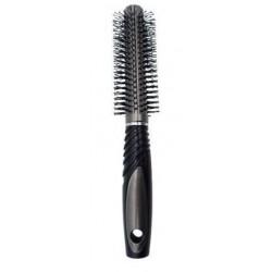 Hajkefe kör műanyag fekete-szürke H20031-6