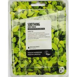 Fátyolmaszk Superfood zöldtea