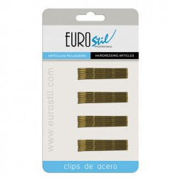 Hullámcsat arany 5cm 24db Eurostil01609