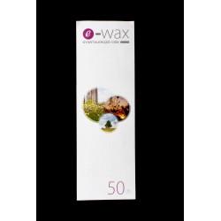 Gyantalehúzócsík 50 db-os e-wax