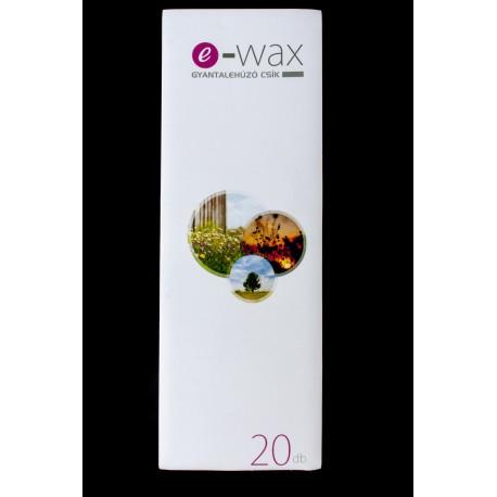 Gyantalehúzócsík 20 db-os e-wax