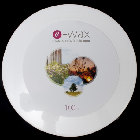 Gyantalehúzócsík tekercs 100 méter e-wax